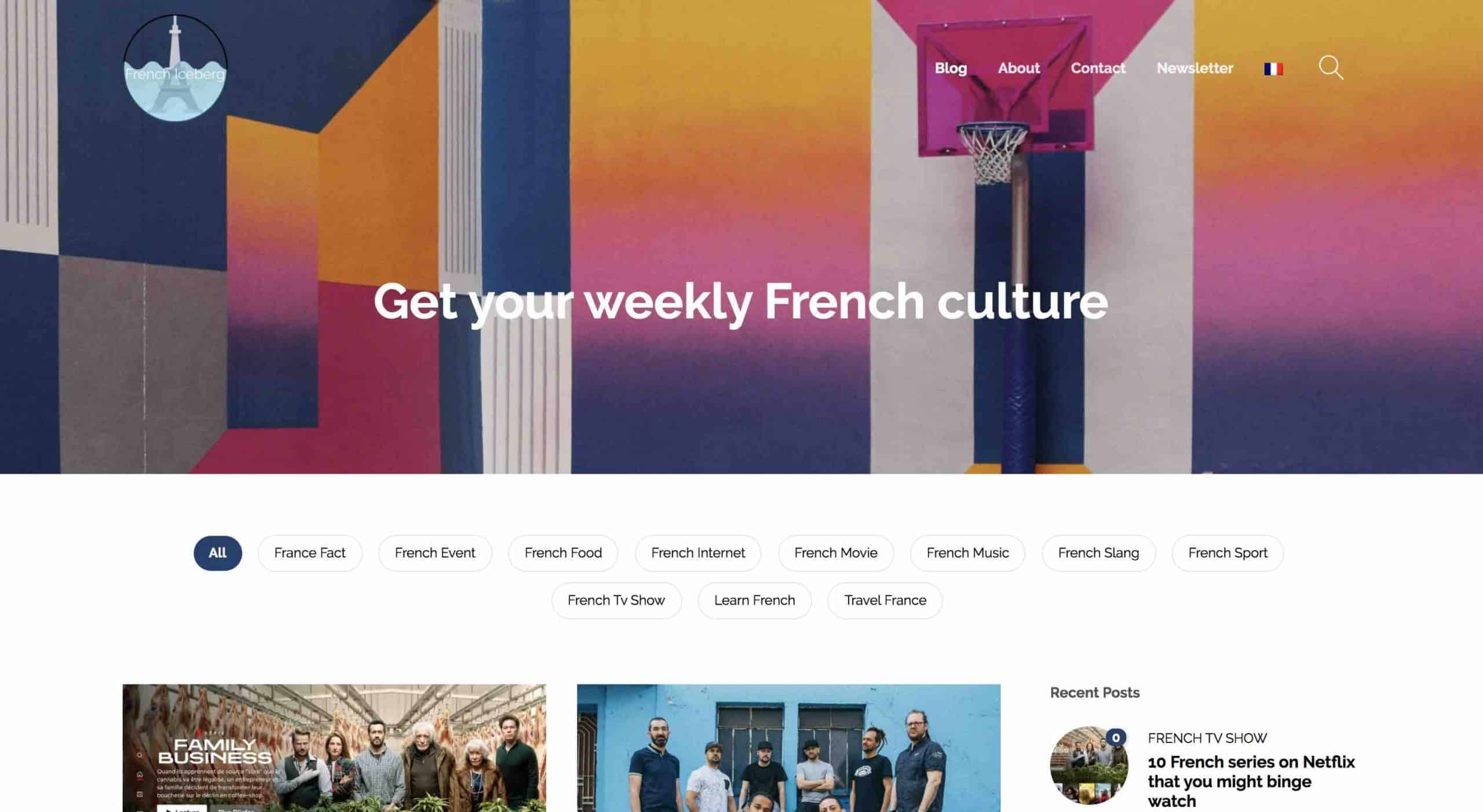 French Iceberg Home Page