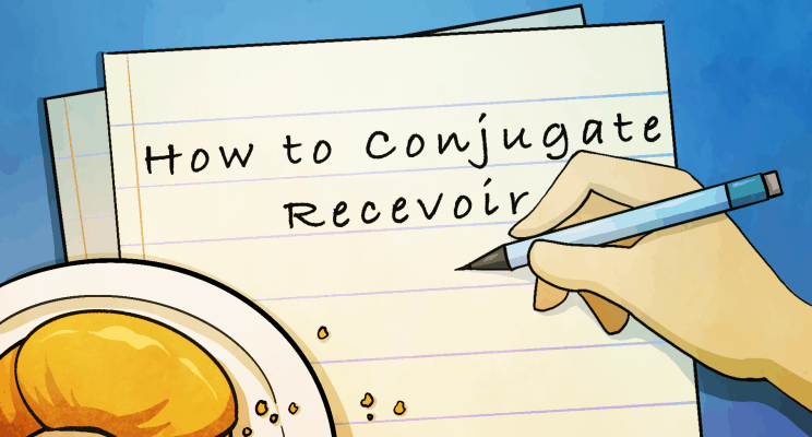 how to conjugate the french verb recevoir